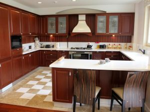 U-Shape Modular Kitchen Design
